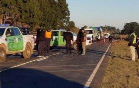 Tras choque frontal, dos motociclistas murieron en una ruta del interior de Corrientes