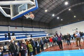 El Gobierno Provincial inauguró obras de refacción en el Club Hércules de Capital
