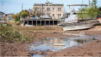 Río Paraná: prevén la mayor bajante para noviembre