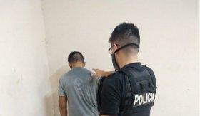 Golpeó con una piedra en la cara a un policía y fue detenido